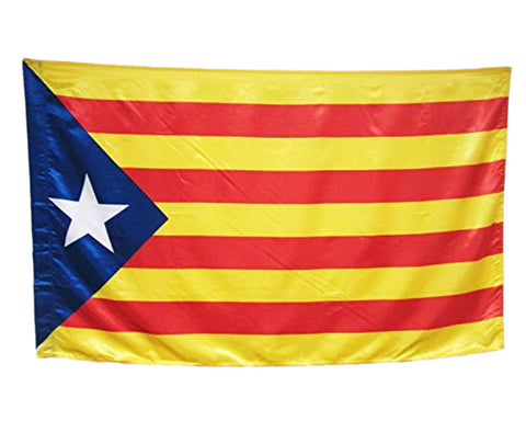 90cm x 150cm Catalonia Flag with Eyelets