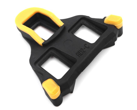 6 Degree Float  Road Bike Pedal Cleats for Shimano SPD-SL Pedals - Yellow