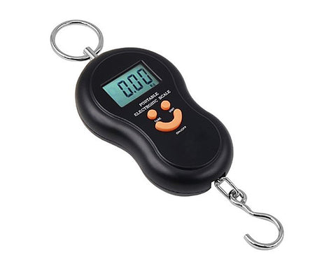 Digital Weighing Scale for Travel - Black