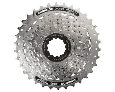 Shimano CS-HG41-8 Speed Cassette with 11-32 Teeth - Silver