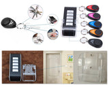 5 in 1 Wireless Remote Control Key Finder Set
