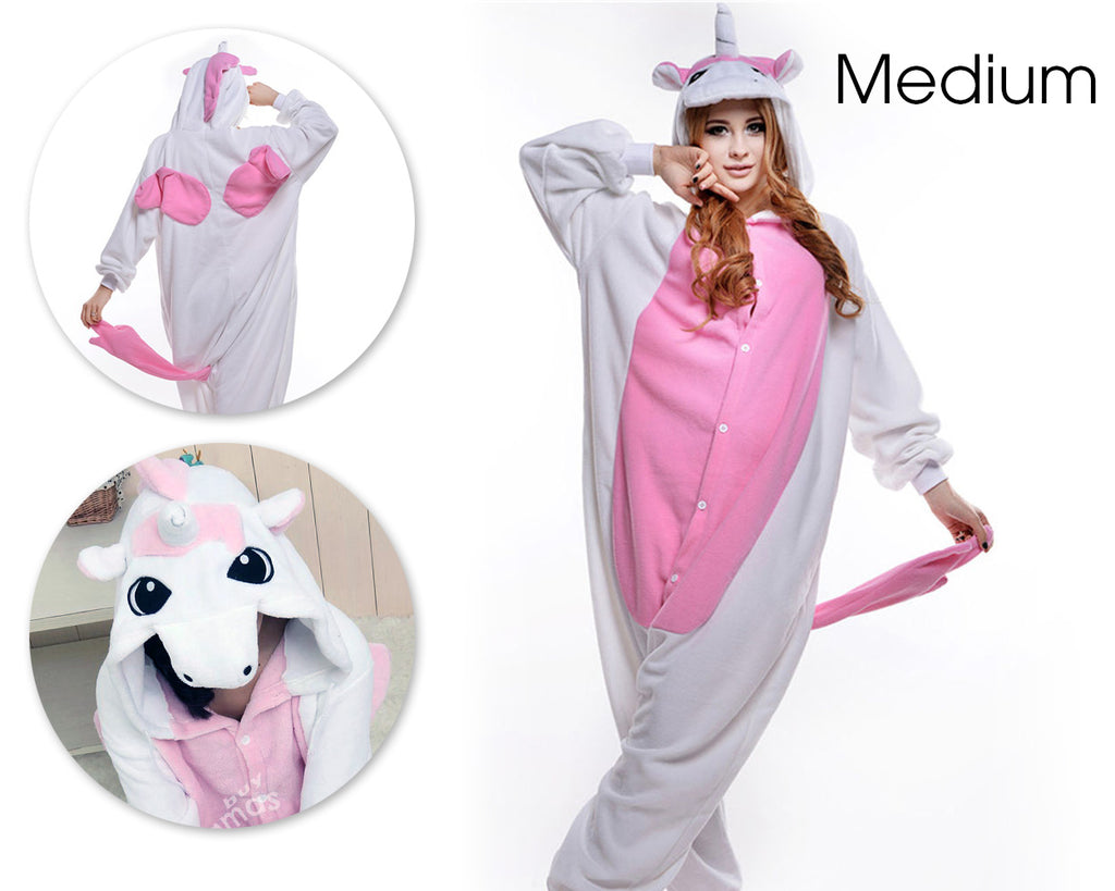 One Piece Pink Unicorn Pyjama - Medium