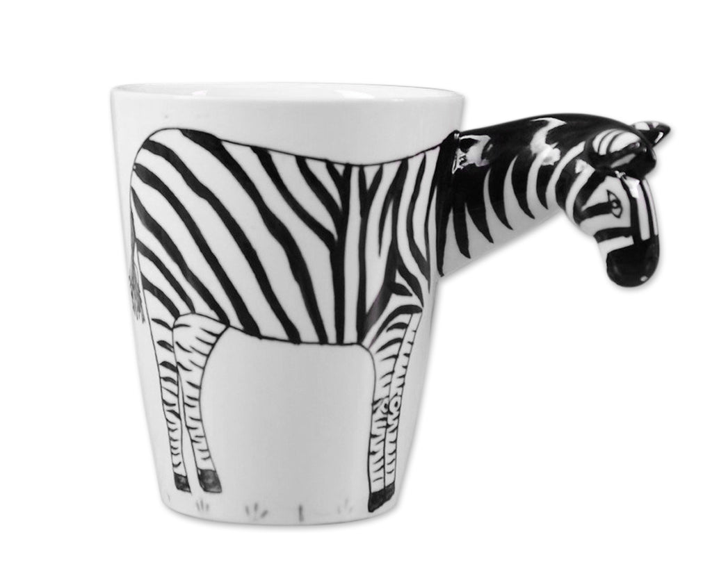 3D Hand-painted Animal Series Ceramic Coffee Cup