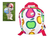 9' Safety Harness Toddler Kids Backpack with Rein Strap - Fruit