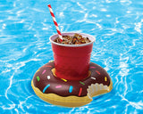 Inflatable Flamingo Drinks Holders for Swimming Pool Float Cup Holder, Pack of 6