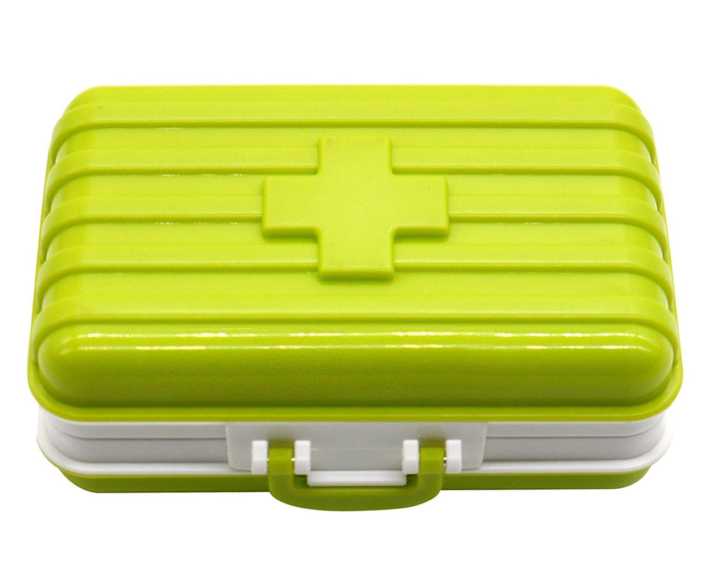 Portable Pill Box 6 Compartments in Suitcase Shape