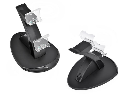 PS4 Controllers Charger Stand for 2 DualShock 4 Controllers