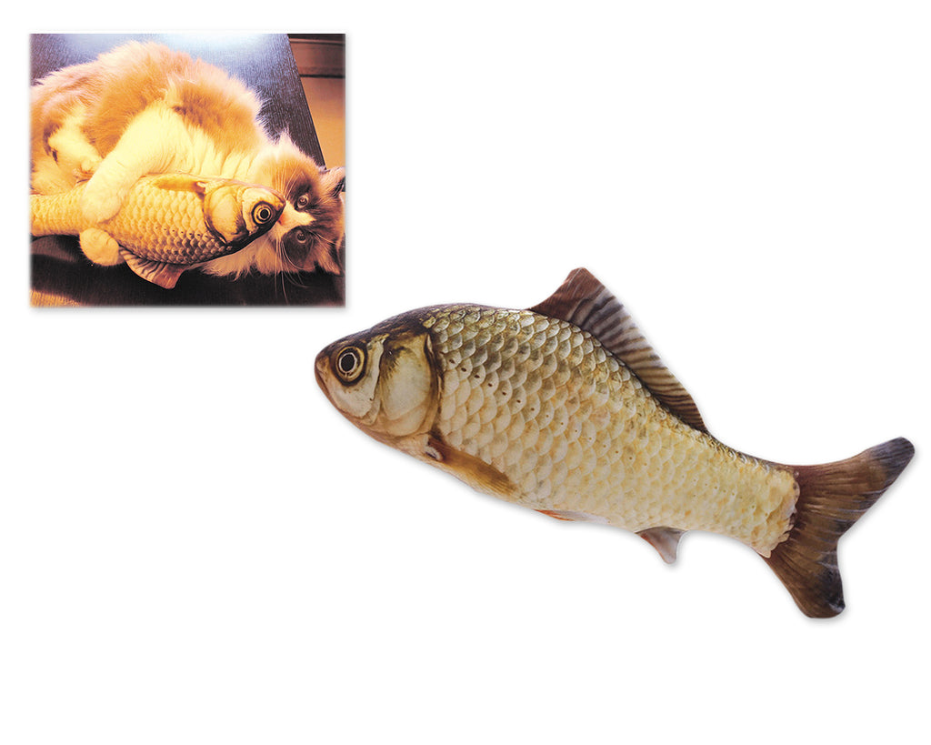 Realistic Catnip Fish Toy for Cats