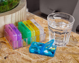 Pill Box with 28 Compartments