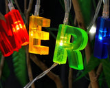 Party Decoration LED String Light with Happy Birthday Letters