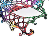 Colorful Halloween Masquerade Party Fancy Dress Sexy Lace Eye Mask - Opera Venetian