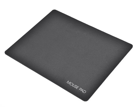 Natural Rubber Gaming Mouse Pad - Black