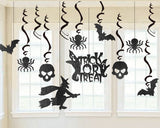Halloween Hanging Decorations with Strings for Party Decoration