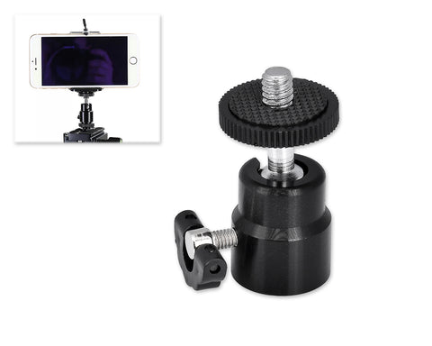 Mini Ball Head 1/4'' Screw Mount for DSLR Camera