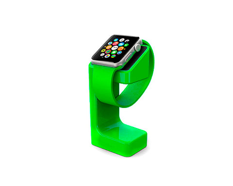 Plastic Watch Charging Display Stand for 38mm/ 42mm Apple Watch -Green