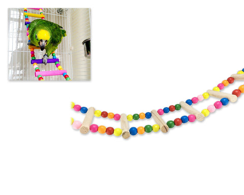 Bird Ladder Toy 27.6 Inch Parrot Sewing Bridge