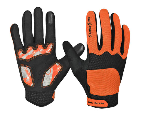 Full Finger Gloves Touchscreen Compatible Cycling Gloves