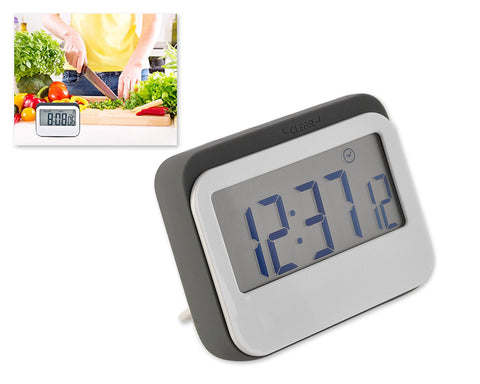 Two in One Digital Kitchen Timer with Clock Function