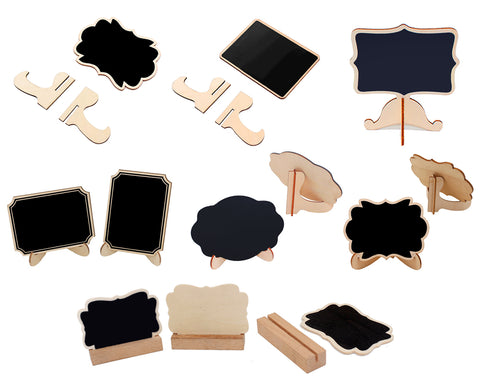 Mini Chalkboard Signs 14 Pieces Wood Mini Chalkboard Easel