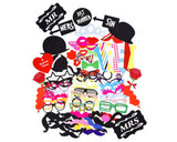 88 Pcs Photo Booth Props DIY Kit for Party
