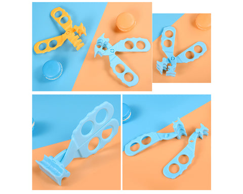 Baby Food Scissors 2 Pieces Food Cutters with Case