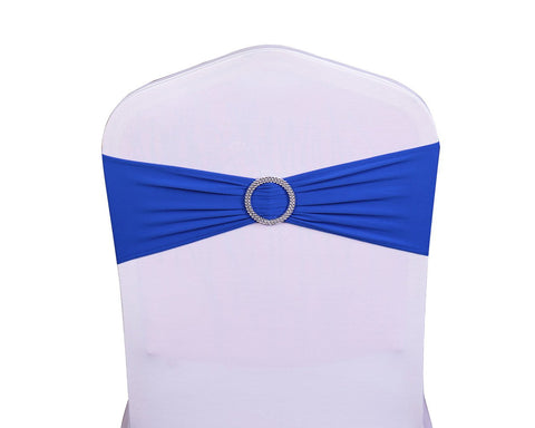 10 Pieces Spandex Chair Sashes