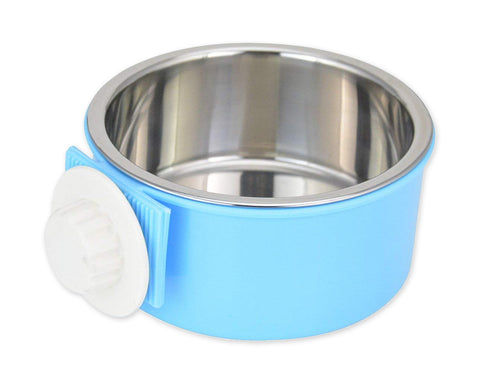 Stainless Steel Pet Hanging Feeder Pet Bowl
