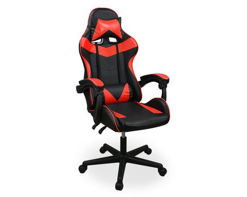 Gaming Chair Office Chair with Headrest and Lumbar Pillow - Red