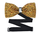Luxurious Shinning Wedding Bow Tie for Men Set of 2