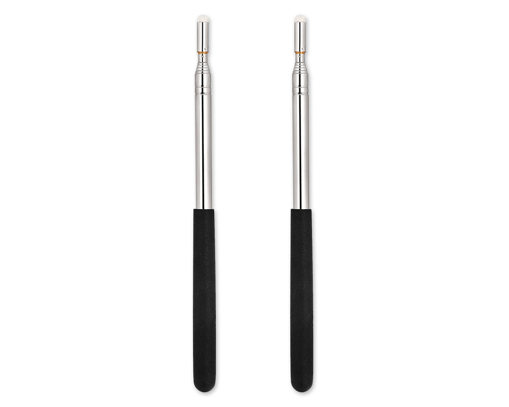 Telescopic Presentation Pointer 2Pcs Retractable Teacher Pointer