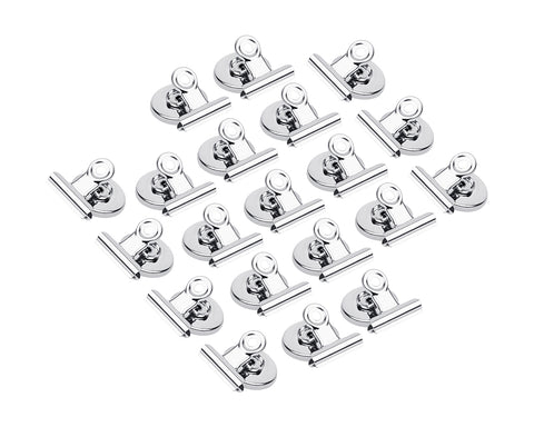 Fridge Kitchen Magnet 12 Pieces Strong Magnetic Clips for Whiteboard