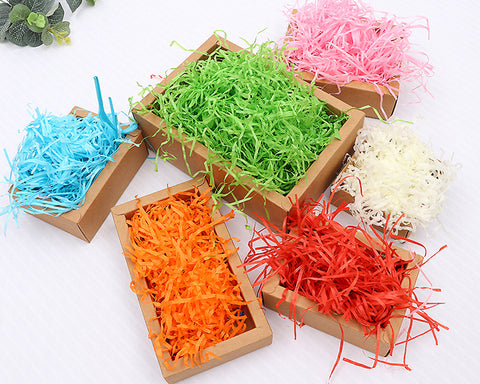 Easter Grass 3 Colors Recyclable Paper Shred for Easter Basket Filler