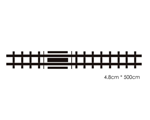 Railway Road Tape 5M DIY Road Stickers Set with Curve Track