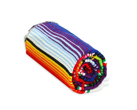 Mexican Table Runners 2 Pieces Serape Blanket for Mexican Party
