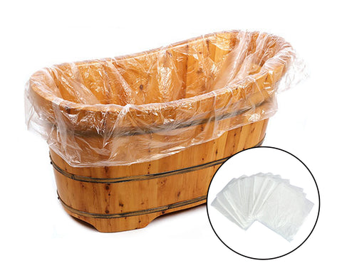 Disposable Bathtub Bag 10 Pieces 120cm x 230cm Bathtub Cover Liner