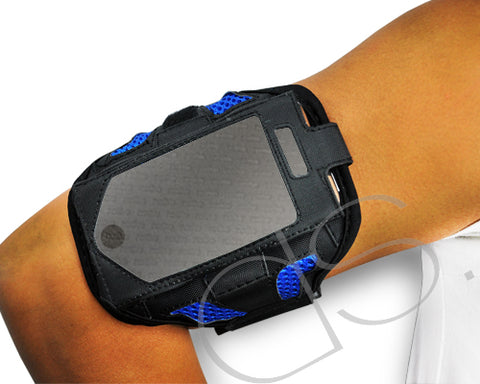 iPhone 4 and 4S Running Armband - Blue
