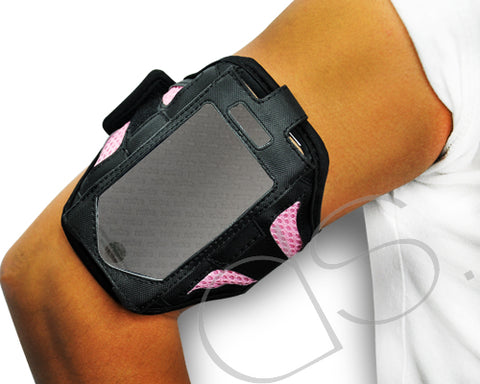iPhone 4 and 4S Running Armband - Pink