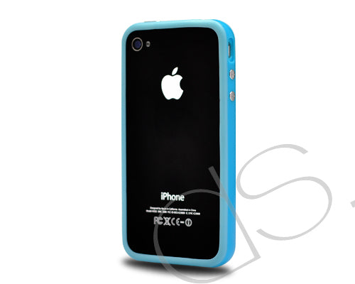 Bumper-Advanced Series iPhone 4 and 4S Case - Blue
