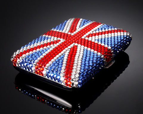England Swarovski Crystallized Cigarette Case