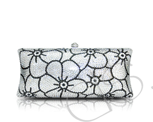 Sweet Banquet Crystal Clutch Bag - 18.8cm