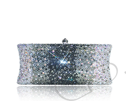 Graphite Crystallized Hand Bag Pro - Black 21.6cm