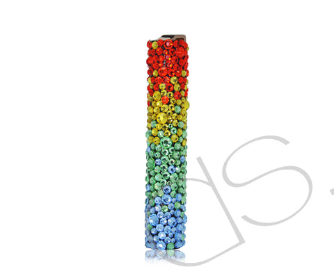 Rainbow Bling Swarovski Crystallized Lighter