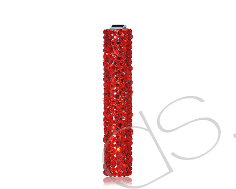 Tones of Red Bling Swarovski Crystallized Lighter
