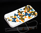 Joie Series iPhone 4 and 4S Silicone Case - Multi-Butterflies