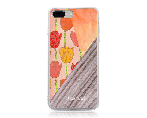 Tulip Bling Swarovski Crystal Phone Cases