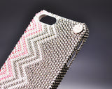 Pattern Anchors Bling Swarovski Crystal Phone Cases