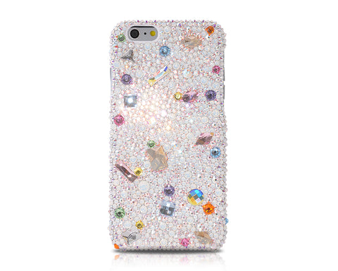 Colorful Cameo Bling Swarovski Crystal Phone Cases