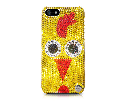 Chinese Zodiac Bling Swarovski Crystal Phone Cases - Rooster