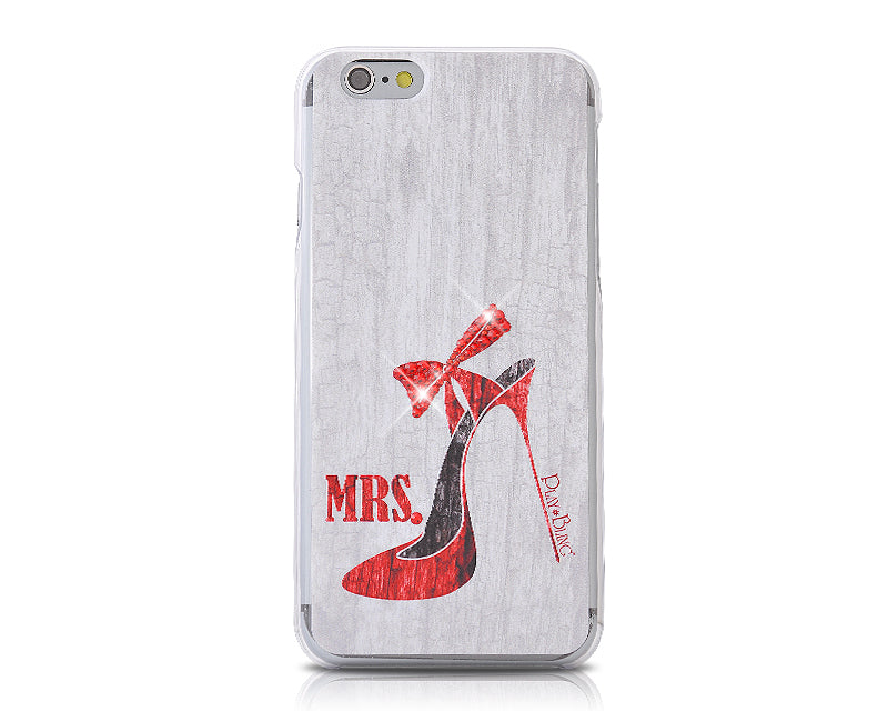 Pair Bling Swarovski Crystal Phone Cases - High-Heeled