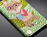 Glasses Fox Bling Swarovski Crystal Phone Cases